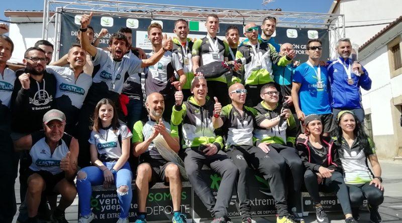 Dani Remón y Eva Sayago se proclaman Campeones de Extremadura de Carreras por Montaña en Arroyomolinos