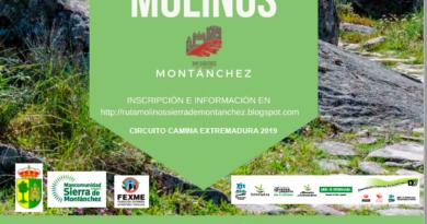 III RUTA DE LOS MOLINOS SIERRA DE MONTÁNCHEZ