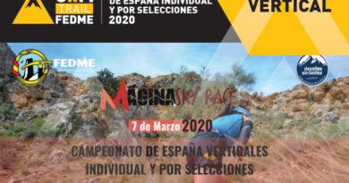 CONVOCADOS AL CAMPEONATO DE ESPAÑA DE KILOMETRO VERTICAL
