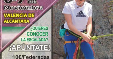 3ª ACTIVIDAD GRUPO FEMENINO DE ESCALADA DEPORTIVA