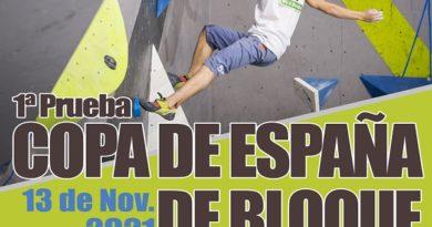 1ª PRUEBA DE COPA DE EXTREMADURA DE ESCALADA EN BLOQUE 2021: V Open de Escalada Cereza Wall