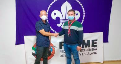 La FEXME colaborará con Scouts de Extremadura